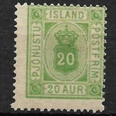 Islanda 1876, Nestampilat