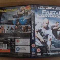 Fast and Furious 5 – DVD [A] - Film actiune, Engleza