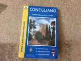 conegliano pianta e guida turistica della citta ghid oras italia turism harta