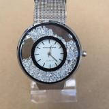 Ceas de dama NOU casual metalic. Cel mai mic pret !!! - Ceas dama, Quartz, Otel, Metal necunoscut