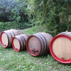 Butoaie de lemn - Suport sticla vin