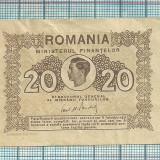 Bancnota 20 lei 1945 fara serie - Bancnota romaneasca