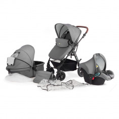 Carucior Kinderkraft Kraft 6 Plus 3 in 1 – gri