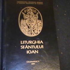LITURGHIA SFINTULUI IOAN-ARHIEPISCOPUL CONSTANTINOPOLULUI- - Carti de cult