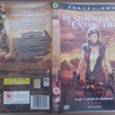Resident Evil Extinction -Rental Copy – DVD [B] - Film SF, Engleza