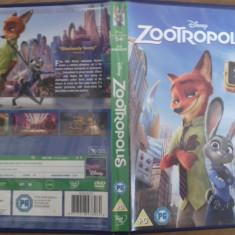 Zootropolis – DVD [B,cd], Engleza