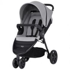 Carucior B-Agile 3 Steel Grey - Carucior copii 2 in 1 Britax