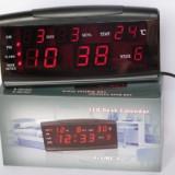 Ceas digital de masa cu afisare data si temperatura ZXTL-13B - Ceas cu proiectie