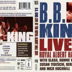 B.B. KING - LIVE AT THE ROYAL ALBERT HALL, 2011, DVD + CD