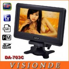 Mini Monitor Tv LCD 7.8