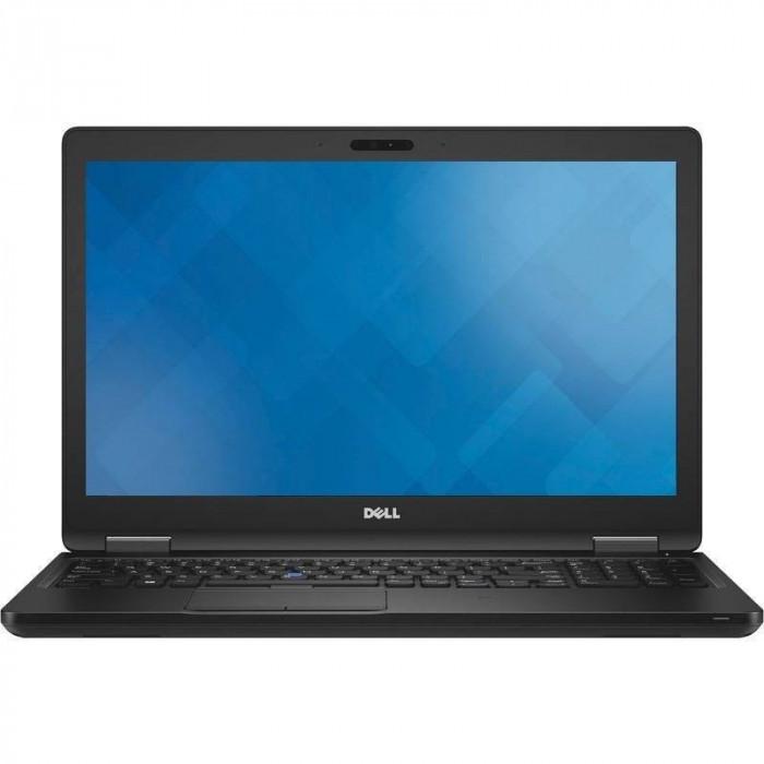 Laptop Dell Latitude 5580 15.6 inch Full HD Intel Core i7-7820HQ 16GB DDR4 256GB SSD nVidia GeForce 940MX Linux Black