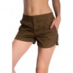 Pantaloni Scurti Bumbac Only Adelle - Pantaloni dama Only, Marime: 36, Culoare: Maro