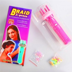 Aparat pentru impletit parul twist Braid X-Press - Ondulator de Par