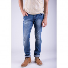 Blugi Bumbac Alcott Peteer Regular Fit Medium Blue Denim