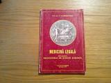MEDICINA LEGALA - Vladimir Belis - Editura Odeon, 1999, 173 p., Alta editura