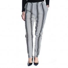 Pantaloni Lungi Copenhagen Cincin Partisan Moss Black White