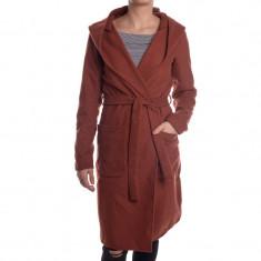 Palton Dama Only Onlphoebe Hooded Coat, Marime: S, Culoare: Visiniu