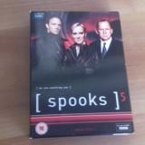 SPOOKS - Season Five - 10 Ep - DVD [A, B] - Film serial, Drama, Engleza