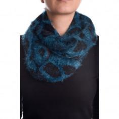 Fular Dama Vero Moda Babette Tube Scarf, Culoare: Albastru