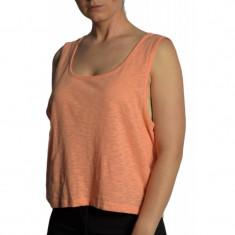 Maiou Dama Only Norma Cropped Peach Pink, Marime: L, XL, Culoare: Roz