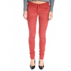 Blugi Dama Only Skinny Low Coral