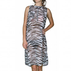 Rochie Noisy May Zebra Above Knee Animal Print