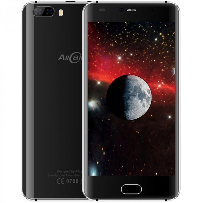 AllCall Rio, Dual SIM, 3G, Quad-Core, 16GB, Android 7.0, Negru foto mare