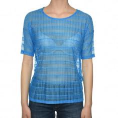Bluza Maneca Scurta Dama Vero Moda Wp Structure Brilliant Blue