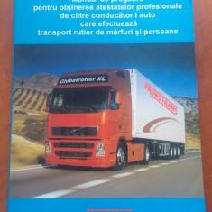 Manual Obtinere Atestat Profesional Pt. Transport Rutier De Marfuri Si Persoane