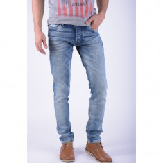 Blugi Barbati Jack&Jones Tim Original Jj 845 Blue Denim Slim Fit