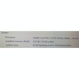 Asus K56-Intel i7-3517U-2.40Ghz-Ram 8GB-SSD 256GB+HDD-15,6 HD display