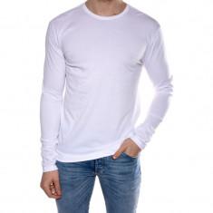 Bluza Bumbac Sublevel Pure Range Alba - Bluza barbati sublevel, Marime: S, L, XL, XXL