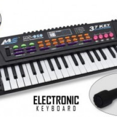 Orga electronica pt copii cu 37 de clape + microfon inclus