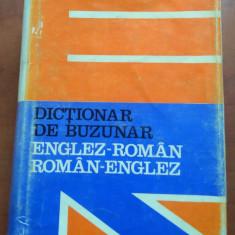 Dictionar De Buzunar Englez-Roman/ Roman-Englez - Andrei Bantas Altele