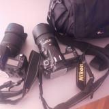 2 Aparate foto nikon+obiective