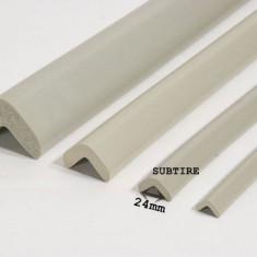 Protector colturi/L/90cm/ subtire AC-53 Gri Deschis [24xL900xh22xt6] - Plinta parchet