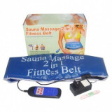 Centura de masaj Sauna Massage 2 in 1 Fitness Belt - Centura masaj