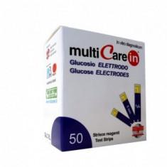 MultiCarein Teste glicemie