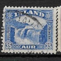 Islanda 1931 serie deparaiata, Stampilat