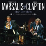WINTON MARSALIS & ERIC CLAPTON - PLAYS THE BLUES, 2011, DVD+CD