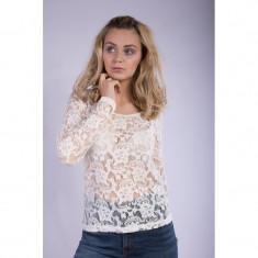 Bluza Dantela Dama Vila Femme Pristine