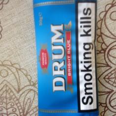 Tutun pentru rulat Drum Bright Blue --tutun Bucuresti-volum 50 grame/plic
