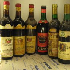 6 sticle vin lotto ( 1967) recoltare 1967 - GIFT PENTRU 50 DE ANI - Vinde Colectie, Aroma: Sec, Sortiment: Rosu, Zona: Europa