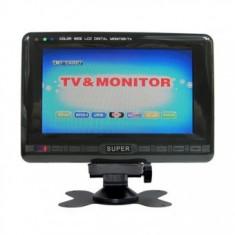 Televizor monitor LCD portabil pentru camere video si auto SUPER DA-903C