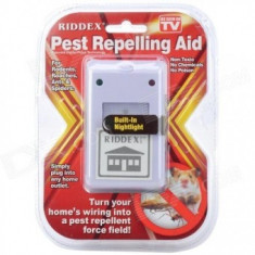 Pest Repeller, aparat contra soareci, gandaci, furnici, paianjeni, Pest reject RIDDEX Plus