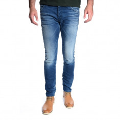 Blugi Barbati Jack&Jones Glenn Fox Bl 408 Blue Denim Slim Fit