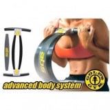 Aparat multifunctional fitness pentru brate abdomen si coapse Gold's Gym ABS - Echipament Fitness