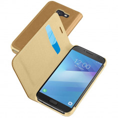 Husa Flip Cover Cellularline BOOKESSGALA517N Maro pentru SAMSUNG Galaxy A5 2017