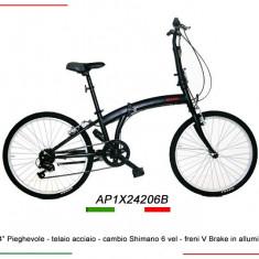 Bicicleta pliabila roti 24