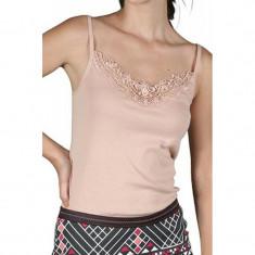 Maiou Dama Vero Moda New Ratli Lace Mahogany Rose, Marime: XS, S, M, XL, Culoare: Roz